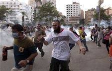 APTOPIX-Mideast-Egypt-TEAR-GAS