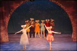 'Angelina Ballerina' comes to the Valentine Theater on Saturday.
