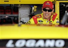 NASCAR-Chicago-Auto-Racing-Logano