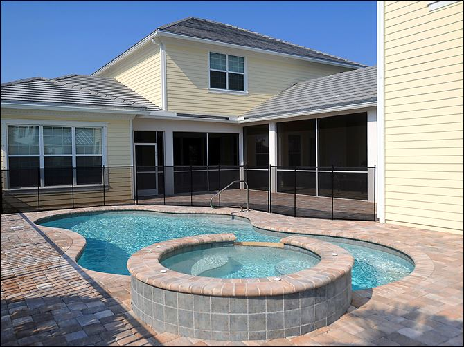 In some markets, a fancy swimming pool is an advantage, or even a necessity, for home sellers. However, the cost of building such a pool often exceeds its value on the housing market.