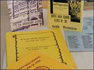 Programs from past reunions.