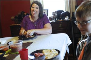 """My kids aren't overweight but I could see them developing my bad habits,"" Crystal Dupler, of Oregon, said. ""I didn't want to see them go through this."" Crystal and her husband Brandon have been working for the past year to change their family's editing habits."