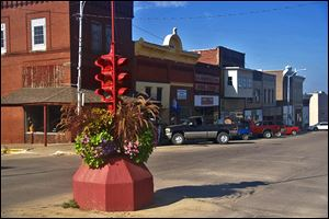Toledo, Iowa, which is the seat of Tama County, has 2,341 residents and is known for its Stop Light Festival.