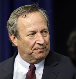 President Obama says he has accepted Lawrence Summers' decision to withdraw from consideration for the role of Chairman of the Federal Reserve. Mr. Summers was the leading candidate to replace current Fed Chairman Ben Bernanke but faced opposition from some Democrats.