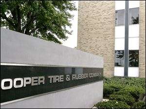 The headquarters of the Cooper Tire & Rubber Company is seen in Findlay, Ohio.