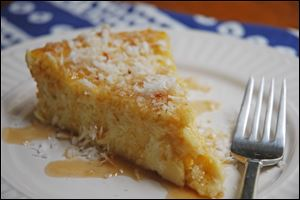 This coconut pie is similar to a popular restaurant version and is so easy to make at home.