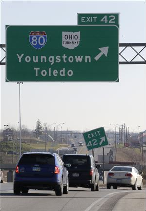 Ohio has authorized $1.5 billion in borrowing for spending away from the 241-mile turnpike corridor.