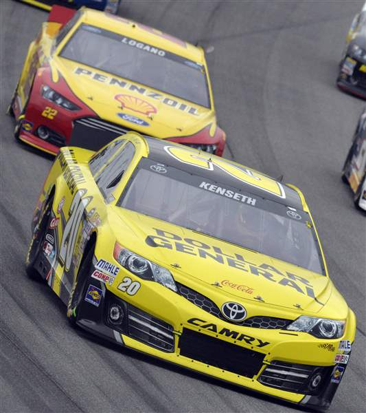 NASCAR-Chicago-Auto-Racing