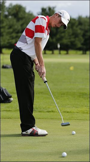 Trevor Dominique, a junior, has a team-best 36.50 nine-hole average. This summer, he was the Toledo Junior Golf Association player of the year.