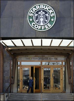 Starbucks' corporate headquarters in Seattle.