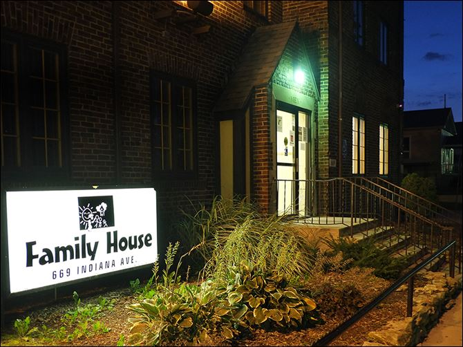 20n6shelters Family House on Indiana Avenue is one of four federally funded shelters in the city overseen by the Toledo Lucas County Homeless-ness Board.