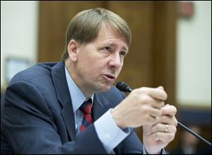 As the first director of the Consumer Financial Protection Bureau, Richard Cordray is building a regulatory regime from scratch.