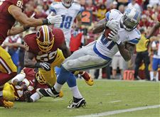 Lions-Redskins-Football