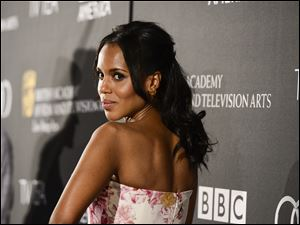 """Scandal"" star Kerry Washington, the first African-American nominee for best actress in a drama since Cicely Tyson in 1995 for ""Sweet Justice,"" would be the first ever to win."