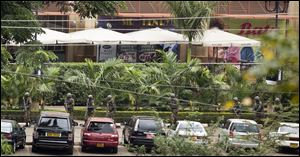 Multiple barrages of gunfire erupted this morning from the upscale Kenyan mall where there is a hostage standoff with Islamic extremists nearly 24 hours after they attacked using grenades and assault rifles.