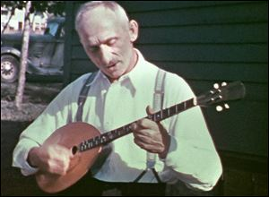A member of the Floriani family performs in Michigan's Upper Peninsula. Michigan was fertile ground for folk music, brought to the region by a wave of immigrants in the early 20th century.