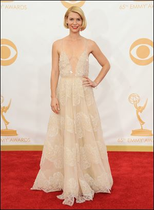 Claire Danes took home the best actress in a drama Emmy for her role as CIA agent Carrie Mathison in 'Homeland.'