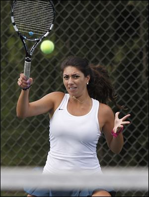 Nina Eid, a junior, captured the No. 3 singles title as the Eagles won the TRAC tournament.