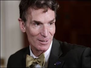 TV personality and 'Dancing With The Stars' contestant Bill Nye.