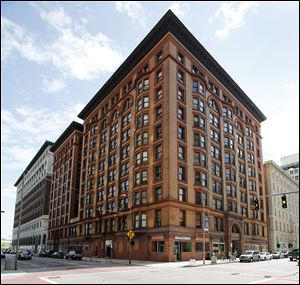 The Spitzer Building at 520 Madison Ave. was Toledo's first steel-framed skyscraper. It was built in 1896. The Spitzer family sold it in 2009.