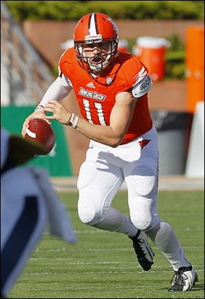Matt Johnson jolted BG's offense with 1,000 yards passing and four scores.