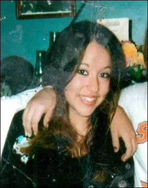 This undated photo shows Cherice Moralez, who was raped in 2007 when she was 14 by teacher Stacey Rambold in Billings, Mont.