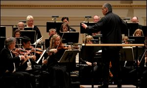 Members of the Toledo Symphony  in the Spring for Music festival at Carnegie Hall in New York, May, 2011.