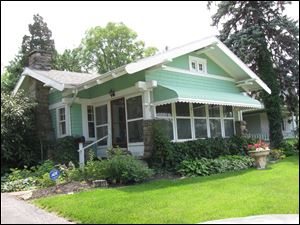 Florence Oberle's home in Grand Rapids, Ohio.