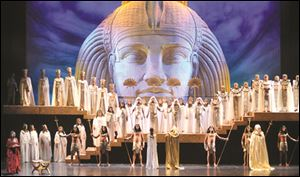 The story of 'Aida' is set in ancient Egypt.