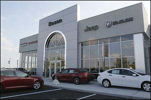 Rouen Chrysler Dodge Jeep Ram expands its showroom and creates a customer-friendly service area after a major rebuild at its facility outside Woodville, Ohio.