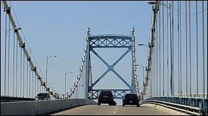 Preliminary lane closures on the Anthony Wayne Bridge will begin Monday and are to last about 10 weeks.