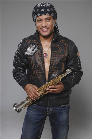Marion Meadows will perform with Joey Sommerville at Forrester's on the River for the Africa-American Legacy Project.