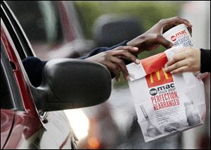 McDonald's has more than 34,000 locations around the world.