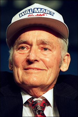 Sam Walton, founder of Wal-Mart