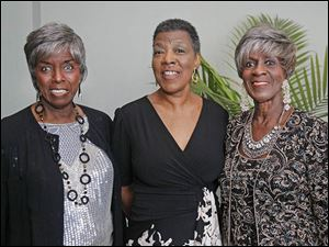 Joyce G. Brown, left, Alice Vines, and Equilla G. Roach.