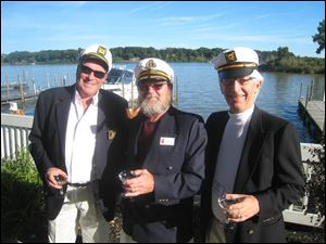 Nautical theme so the Captains were there: Peter Mainhardt, Dave Zirn and Bob Wolfe.