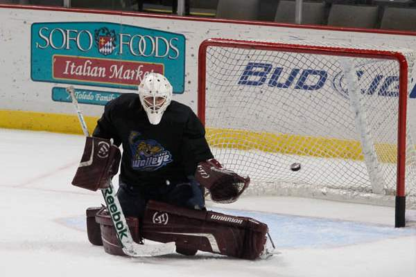 Goalie-Brooks-Ostergard-during-camp