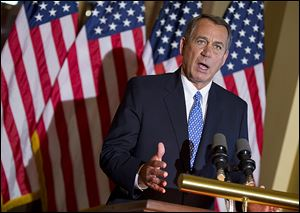 Boehner: 'Refusing to negotiate is an untenable position.'