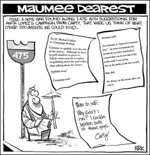 Maumee Dearest: Carty's notes to Lopez