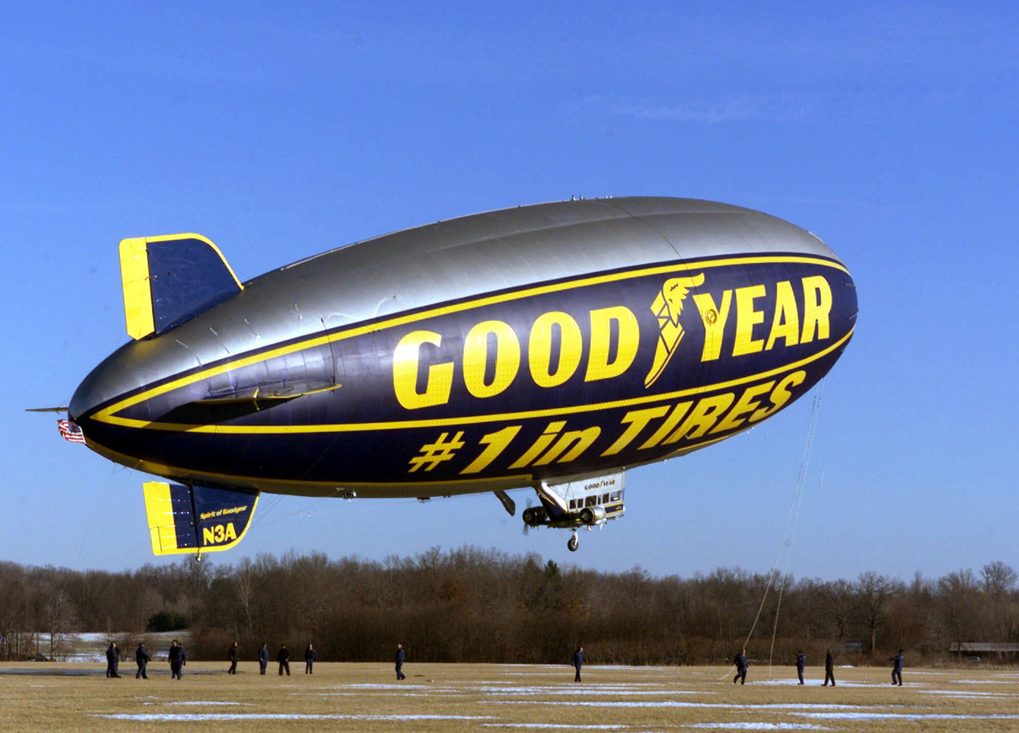 Akron Based Goodyear Blimp Will Retire To Florida The Blade