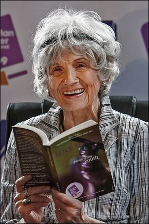 Nobel Prize winner Alice Munro, called a 'national treasure,' in Canada, holds just one of the short-story collections for which she has been honored: 'Friend of My Youth,' (1990). Her most recent is 'Dear Life,' (2012), a quasiauto-biographical work.