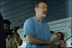 Tom Hanks in a scene from the film,