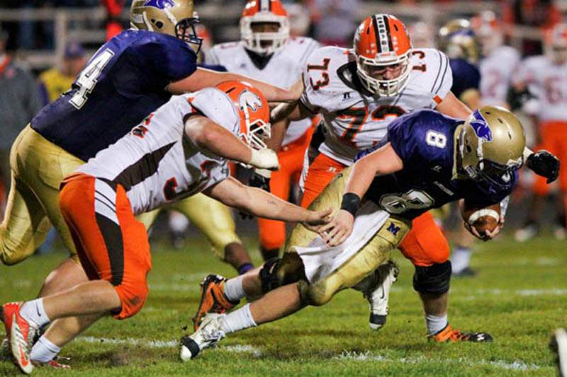 Maumee-Southview-sack