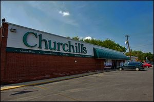 The Churchill's store that closed last year was purchased by Family Dollar. It will open in the Old Orchard neighborhood next year.