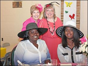 Left to right: La Che'la Benton, Cheryl Crandell, Tami Williams and Artesia Isaac-Adams