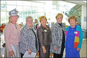 Left to right: Board member Cookie Westmeyer, Chairman Carol Frendt, board members Diane Shull, Patricia Hilfinger and Pauline Tate.