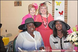 Left to right: La Che'la Benton, Cheryl Crandell, Tami Williams and Artesia Isaac-Adams.