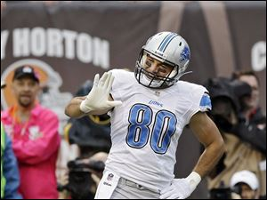 Lions tight end Joseph Fauria has gained national attention for his dance celebrations after a touchdown.