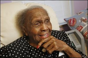 Tiffin resident and Washington native Audrey Lott, born Oct. 18, 1903, will become a 'supercentenarian' on Friday.