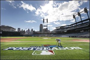Comerica Park will play host to Games 3, 4, and 5 of the American League championship series beginning today.